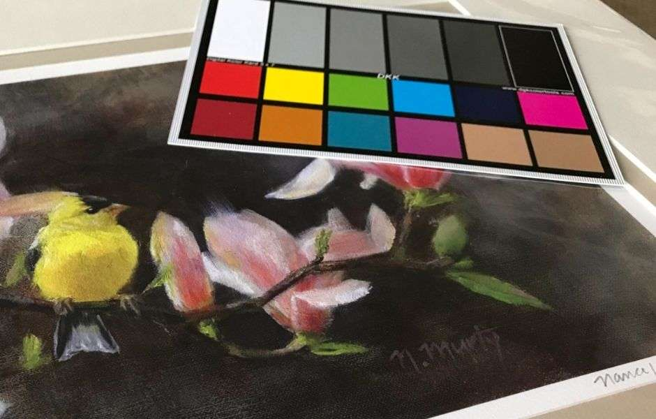 The color calibration chart is one of the best tools for artists to accurately reproduce color in artwork